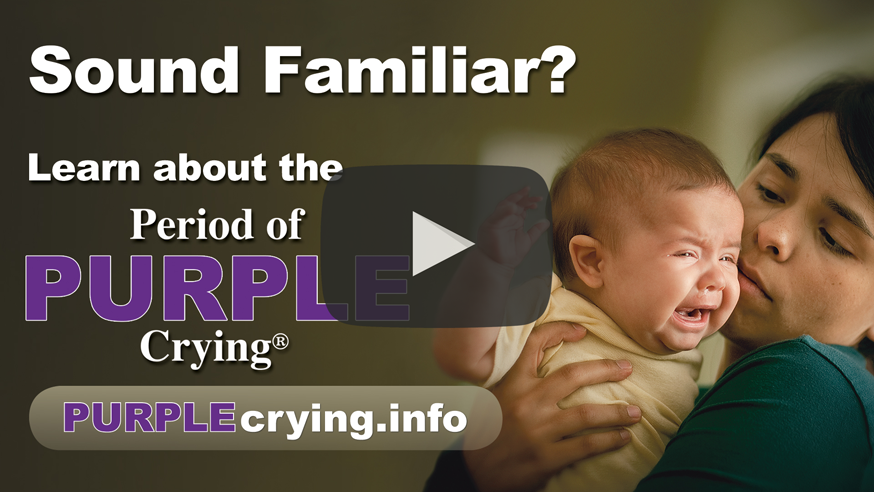 the period of purple crying The national center on shaken baby syndrome (ncsbs) the period of purple crying now available as an app believe all babies can be safe from harm.
